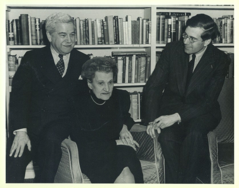 Artur, Therese, and Karl Ulrich Schnabel, New York, 1940's