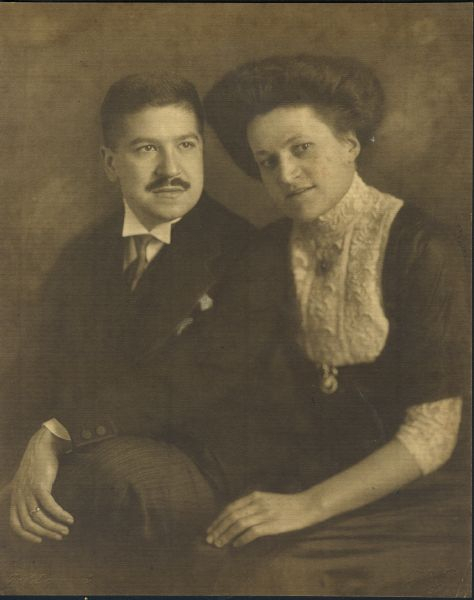 Therese and Artur Schnabel in Berlin, 1910's