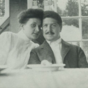 Therese and Artur Schnabel, around 1905