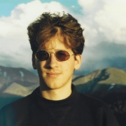 Claude Mottier above Aspen, 1993
