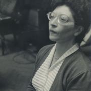 Helen Schnabel playing. Vienna, 1950\'s