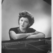 Helen Schnabel at piano, late 1930\'s