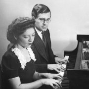 Helen and Karl Ulrich Schnabel playing, late 1930\'s