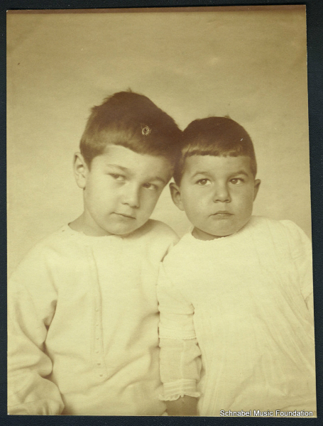 Karl Ulrich and Stefan Schnabel. Berlin 1913