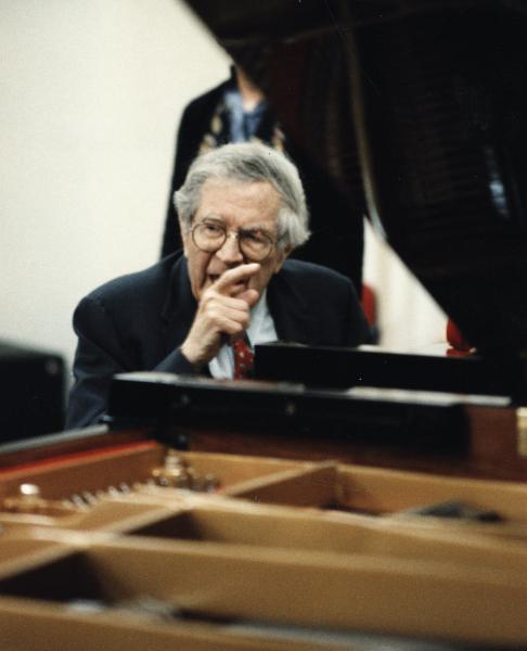 Karl Ulrich Schnabel teaching, 1980\'s