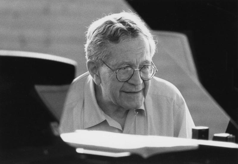 Karl Ulrich Schnabel teaching. 1980\'s