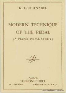 Modern Technique of the Pedal (A Piano Pedal Study)