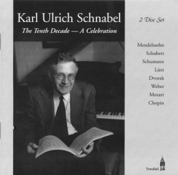 Karl Ulrich Schnabel The Tenth Decade - A Celebration, TownHall Records THCD-58
