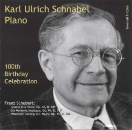 Karl Ulrich Schnabel 100th birthday Celebration: Schubert. TownHall Records THCD-69