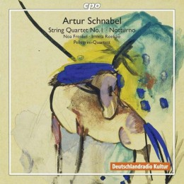 Artur Schnabel String Quartet No. 1 by Pellegrini Quartet on new CPO CD