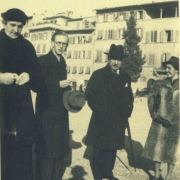 Therese Schnabel, Peter Diamand, Artur Schnabel, and Maria Curcio, 1930's