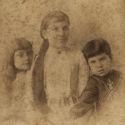 Artur Schnabel with his two sisters, 1884