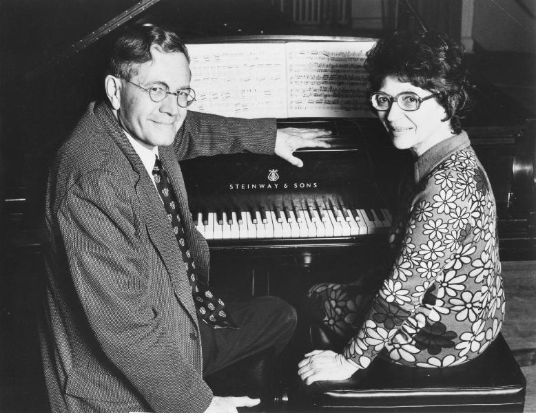 Helen and K.U. Schnabel, Toronto 1973