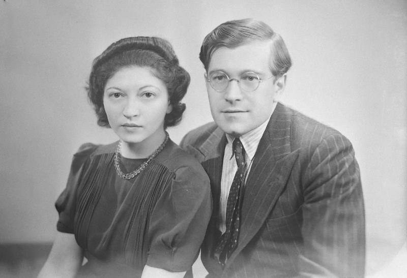 Helen and K.U. Schnabel, 1940s