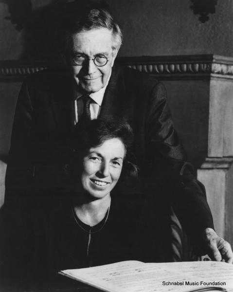 K.U. Schnabel and Joan Rowland, 1980's
