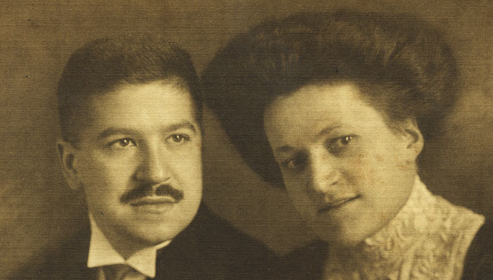 Therese and Artur Schnabel, around 1910