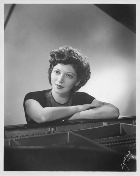 Helen Schnabel at piano, late 1930's