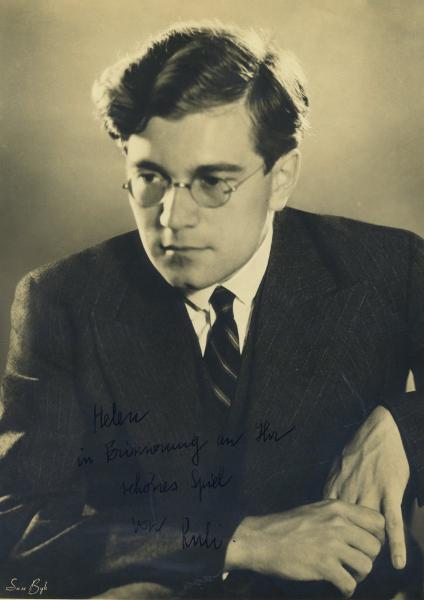Karl Ulrich Schnabel, early 1930's