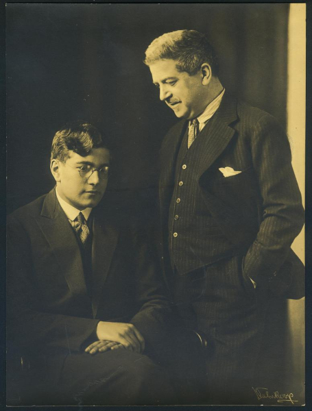 Karl Ulrich and Artur Schnabel, late 1920's