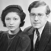 Helen and Karl Ulrich 1940s-square