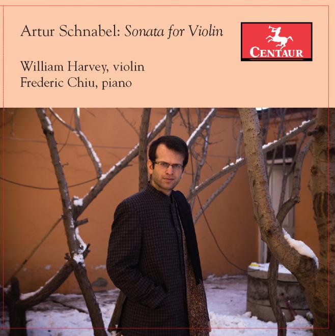 William Harvey presents the Artur Schnabel Sonata for Solo Violin on Centaur CD.